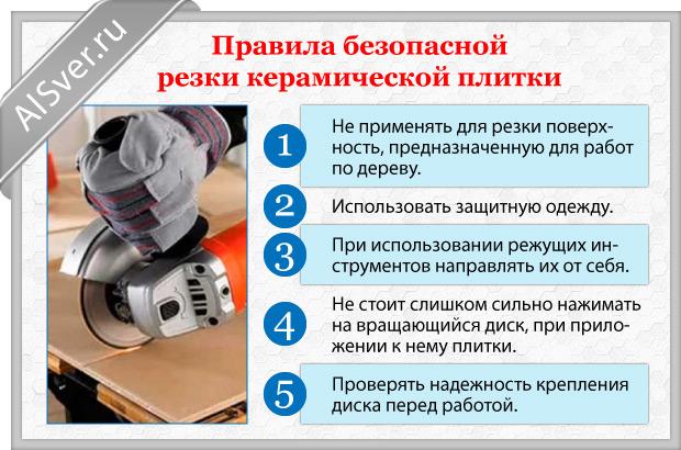 правила безопасной резки