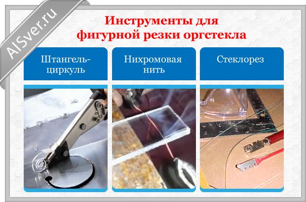 инструменты для фигурной резки
